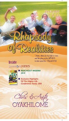 Rhapsody of Realities January 2010 Edition, by Pastor Chris Oyakhilome