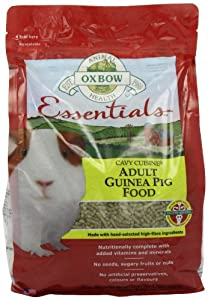 Oxbow Cavy Cuisine Adult Guinea Pig (Timothy Based), 5-Pound Bag