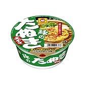 【Amazon.co.jp限定】緑のたぬき天そば 101g×6食パック