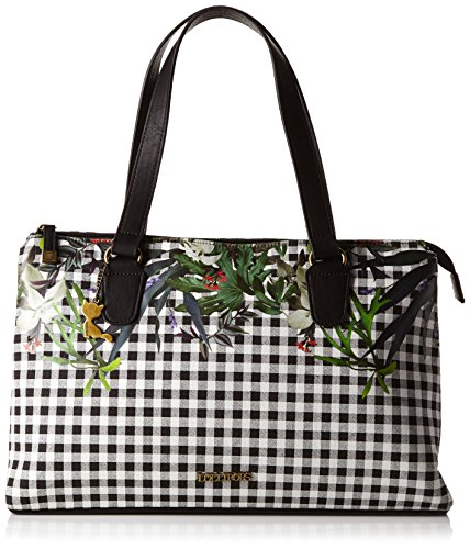 Lollipops Wild Large Valley, Borsa a spalla donna, Nero (Schwarz - Schwarz (Black)), Taglia unica