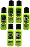6x Orignal Lime Source Pure Lime Foaming Shower Gel 75ml