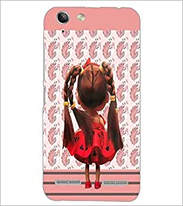 PrintDhaba Cute Doll D-5749 Back Case Cover for LENOVO VIBE K5 PLUS (Multi-Coloured)