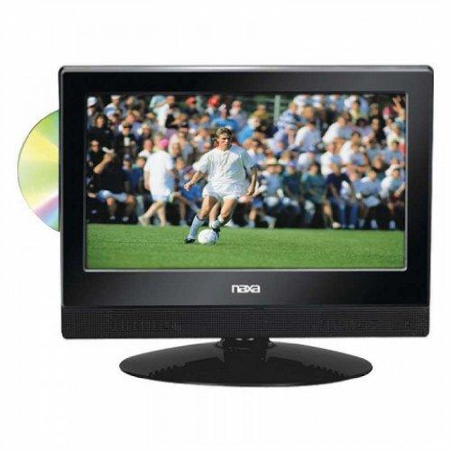 "Naxa 13.3"" Widescreen Hdtv With Built-In Digital Tv Tuner & Dvd Player"