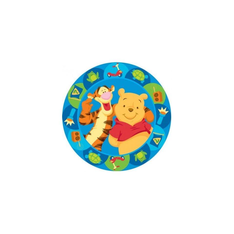 Und Rund On Pooh Disney Kinderteppich Winnie Blau Tigger 0nwP8NOkZX