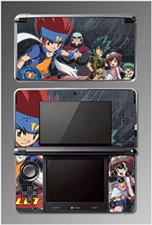 Beyblade Metal Fury Fusion Masters Ginka Madoka Benkei Game Vinyl Decal Cover Skin Protector 6 for Nintendo 3DS