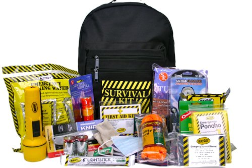 Mayday 1 Person Deluxe Emergency Backpack Kit