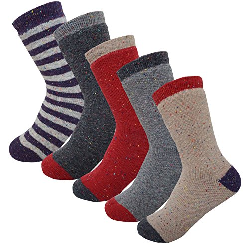 4&5Pack Women's Winter Thermal Fleece Lined Socks Small 5Pack Assortment (Thermal Fleece Lined Socks compare prices)
