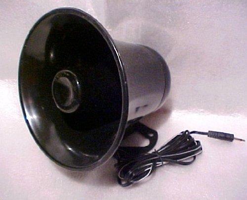 Pa Audio Speaker Weatherproof 12 Watt 8 Ohm (Horn Black)
