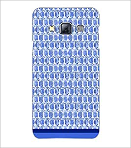 PrintDhaba Owl Pattern D-1685 Back Case Cover for SAMSUNG GALAXY A3 (Multi-Coloured)
