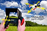TDR-Robin-58G-FPV-with-Built-in-43-LCD-and-Pop-up-Sunshade-2MP-720P-HD-Camera-and-4G-MicroSD-RC-Drone-Quadcopter-RTF