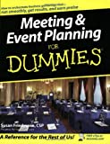 img - for Meeting and Event Planning For Dummies book / textbook / text book
