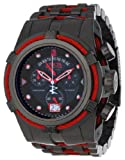 Jason Taylor for Invicta Collection 12950 BOLT Zeus Chronograph Black Dial Black Ion-Plated Stainless Steel Watch