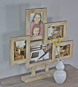 bilderrahmen stehrahmen braun antik holz neu family rahmen fotorahmen collage. Black Bedroom Furniture Sets. Home Design Ideas