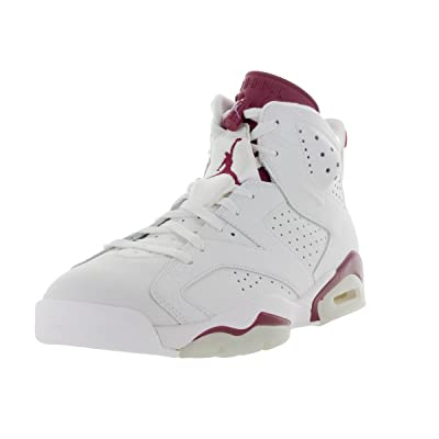 Jordan Men's Basketball 6 Maroon Shoes