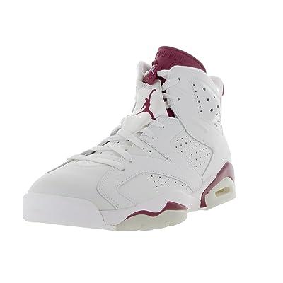 Jordan Men's Basketball 6 Maroon Shoes