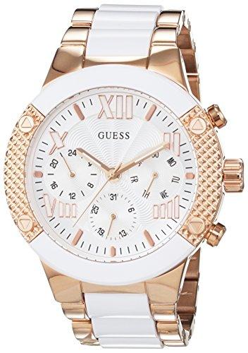 ec0938435f9f Guess - Reloj de pulsera analógico para mujer cuarzo acero inoxidable  w0770l2
