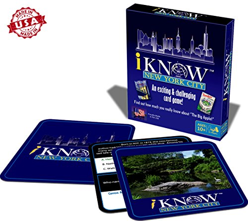 I Know New York City Card Game