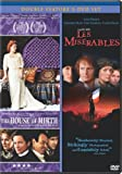 House of Mirth & Les Miserables (1998) (Two-pack)