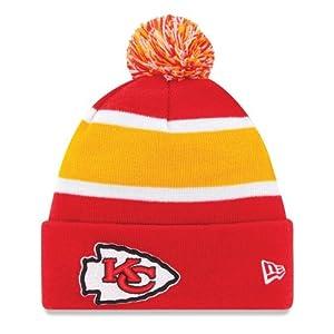 Kansas City Chiefs New Era 2013 Sideline On Field Sport Knit Hat by New Era