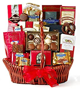 Wine.com Chocolate Decadence Gift Basket
