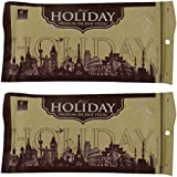 Balaji Holiday Bamboo Incense Sticks (8 Cm, 150 G, Black, Pack Of 2)