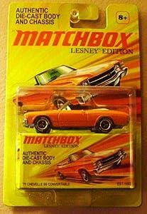2011 Matchbox Lesney Edition '71 Chevelle SS Convertable