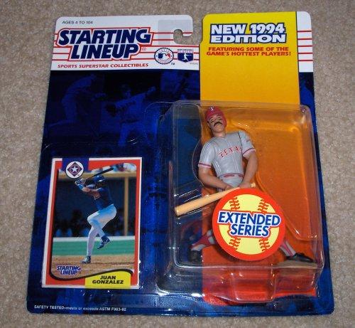 1994 Juan Gonzalez MLB Extended Series Starting Lineup - 1