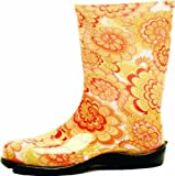 Sloggers 5003YL09 Women\'s Wildflower Tallboot; Yellow; Size-9