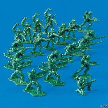 Mini Green Toy Soldiers U.S. Army Men