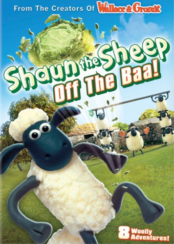 Shaun the Sheep - Off the Baa! DVD Cover