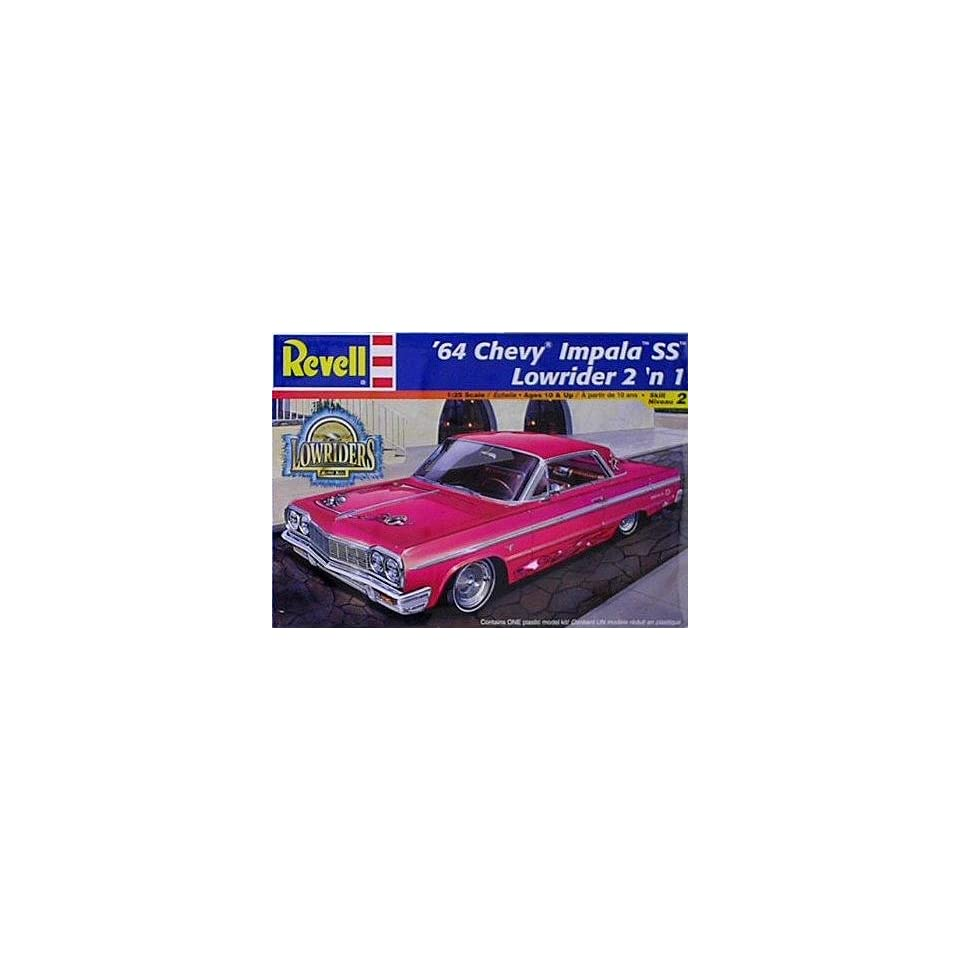 1964 Chevy Impala Lowrider 2n1 Model Kit by Revell