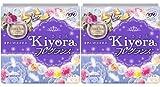 【まとめ買い】ソフィ Kiyora フレグランス リラックス 72コ入×2個パック(unicharm Sofy)