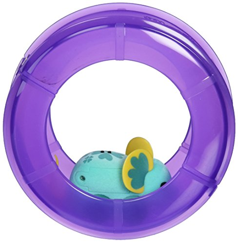 Little Live Pets Mice - Lil Mouse Wheel Pack -Lucky LouLou Purple wheel (Dispatched From UK)