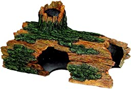 Exotic Environments Hollow Log Aquarium Ornament