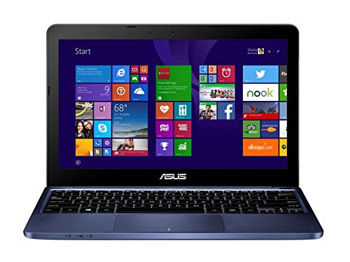 F205TA-BING-FD018BS 29,5 cm (11,6 Zoll) Notebook (Intel Atom Z3735F, 1,3GHz, 2GB RAM, 32GB SSD, Intel HD, Win 8, Touchpad) blau