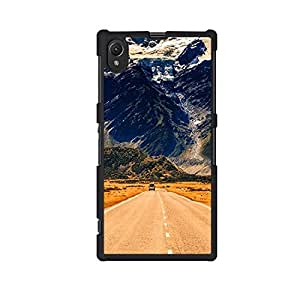 Vibhar printed case back cover for Sony Xperia Z1 LongRoad