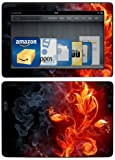 "Kindle Fire HDX 8.9"" Decal/Skin Kit, Flower of Fire"