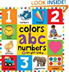 Big Board Books Colors, ABC, Numbers