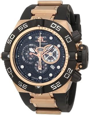 Invicta Men's 6575 Subaqua Noma IV Collection Chronograph Black Polyurethane Watch by Invicta