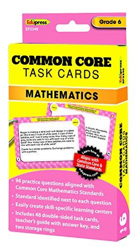Common Core Math Task Cards Grade 6