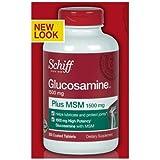 Schiff Glucosamine plus MSM Tablets, 400 Count