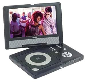 Naxa NPDT-951 9-Inch TFT LCD Swivel Screen DVD Player with Built-In Digital and USB/SD/MMC
