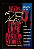 The Years 25 Finest Crime and Mystery Stories (Second Annual Edition)