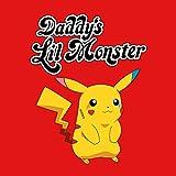 Pokemon-Daddys-Little-Monster-Pikachu-Harley-Quinn-Suicide-Squad-Mens-Hooded-Sweatshirt