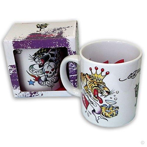 Tazza da caffè, tazza, tazza di Ed Hardy Death or Glory