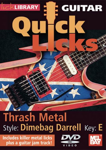 Lick Library: Quick Licks - Dimebag Darrell Thrash Metal [DVD] [2008]