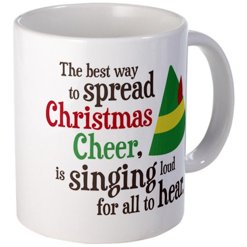 Cafepress Spread Christmas Cheer Mug - S White