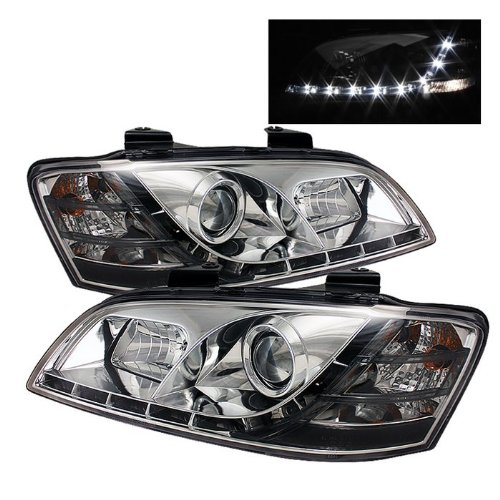 2008 2009 Pontiac G8 DRL LED Projector Headlights