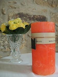 J-line - Bougie - Bougie cylindrique orange
