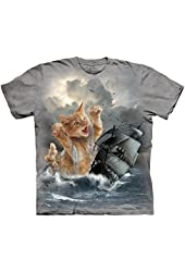 The Mountain Krakitten Kitten Kraken Adult T-shirt